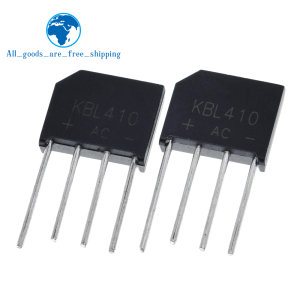 5PCS/Lot KBL410 KBL-410 4A 1000V Single Phases Diode Rectifier Bridge Wholesale