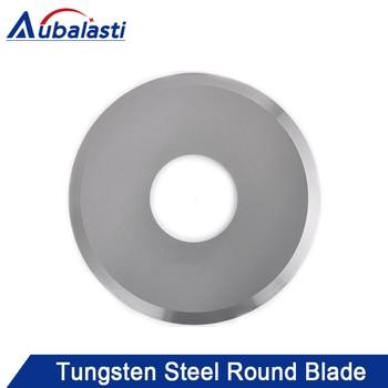 Carbide Blade Cutter Round Blade Paper Cutting Cloth Cutting Tungsten Steel Round Blade Cutting Table Round Blade
