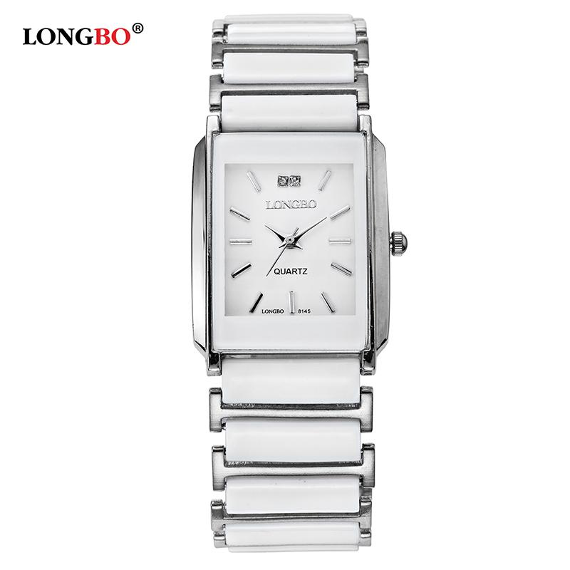 LONGBO Brand Men Women Comple Brief Casual Unique Quartz Wrist WatchesLuxury Cermica Watch Relogio Feminino Montre Femme 8145
