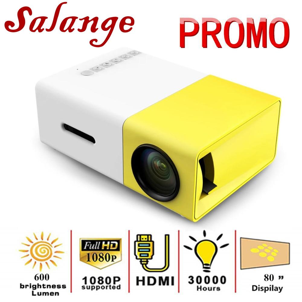 Mini YG300 LCD Projector 50 Lumens 320 x 240 Pixels 3.5mm Audio//HDMI//USB//SD//AV