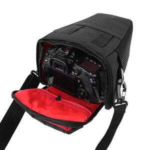 Image 5 - DSLR Camera Bag Case For Canon EOS 4000D M50 M6 200D 1300D 1200D 1500D 77D 800D 80D Nikon D3400 D5300 760D 750D 700D 600D 550D