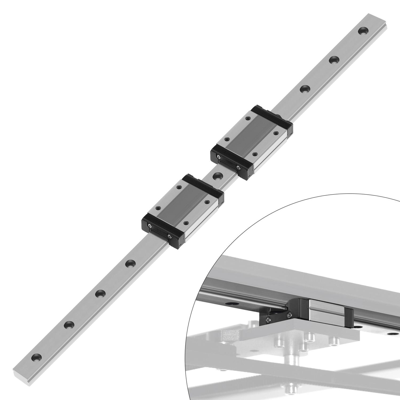 CNC linear rail  MGN12 MGN15 MGN9 100 200 300 350 400 450 500 600 mm miniature linear rail slide for cnc machine,3d printer