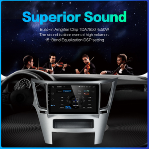 "Image 4 - Dasaita Auto 1 din Radio Android 10,0 TDA7850 für Subaru Legacy Outback 2009 2010 2011 2012 2013 2014 USB MP3 9 ""IPS Touchscreen"