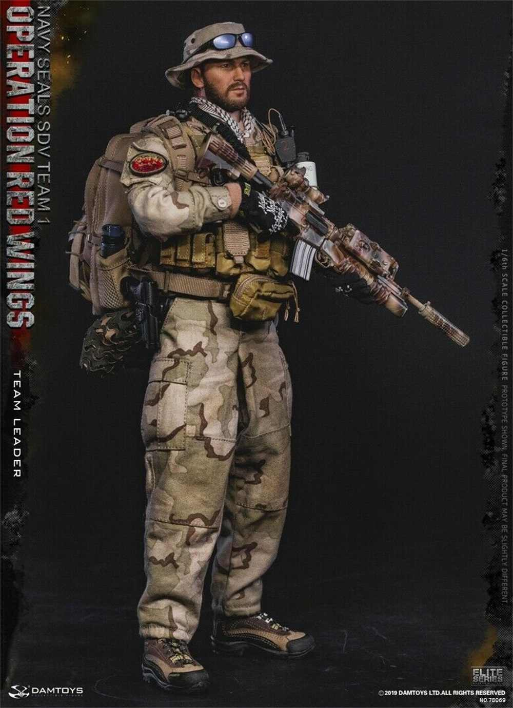 DAM TOYS 1:6TH SCALE Navy Seal SDV Team 1 Operation Red Wings Assault Backpack