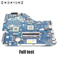 NOKOTION для acer aspire 5253 5250 материнская плата для ноутбука P5WE6 LA-7092P MBRJY02001 основная плата DDR3 с процессором