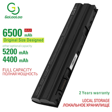 Golooloo 6500mAh New laptop battery for Dell Inspiron 15R (7520) Latitude E5420 ATG E5420m E5430 E5520 E5520m E5530  E6420