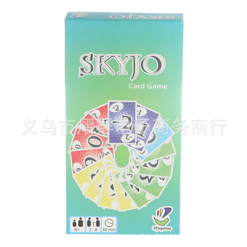 Spot English Version Skyjo Card Game Puzzle Board Game Card Game