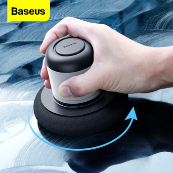 Baseus Car Polisher Scratch Repair Auto Polishing Machine Car Paint Care Clean Waxing Tools Car Accessories Auto Detailing self help waxing machine vacuum cleaner electric car polishing gloss paint care repair scratch remover car maintenance supplies