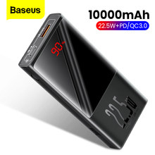 Batterie portative de Powerbank de chargeur de Baseus 20000mAh QC PD 3.0 Mini avec l'affichage de LED(China)