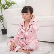 Детские топы с длинными рукавами для маленьких девочек+ штаны, пижамы, одежда для сна, комплект одежды, модные хлопковые однотонные детские топы и штаны из полиэстера