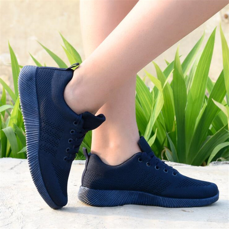 2020 Spring and Summer Designer Wedges Red Black Platform Sneakers Women Shoes Casual Air Mesh Female ShoesZH100687