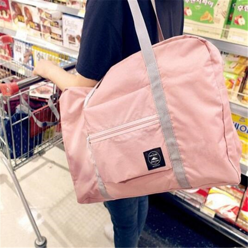 2020 New Nylon Foldable Travel Bag Unisex Large Capacity Bag Luggage Women WaterProof Handbags Men Travel Bags Free Shipping