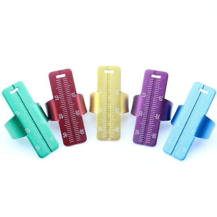 1pcs Dental Ring Ruler Dentist Instrument Ruler Dental Finger Ring Equipment Measuring Tool Dentist Tools Lab Instrument