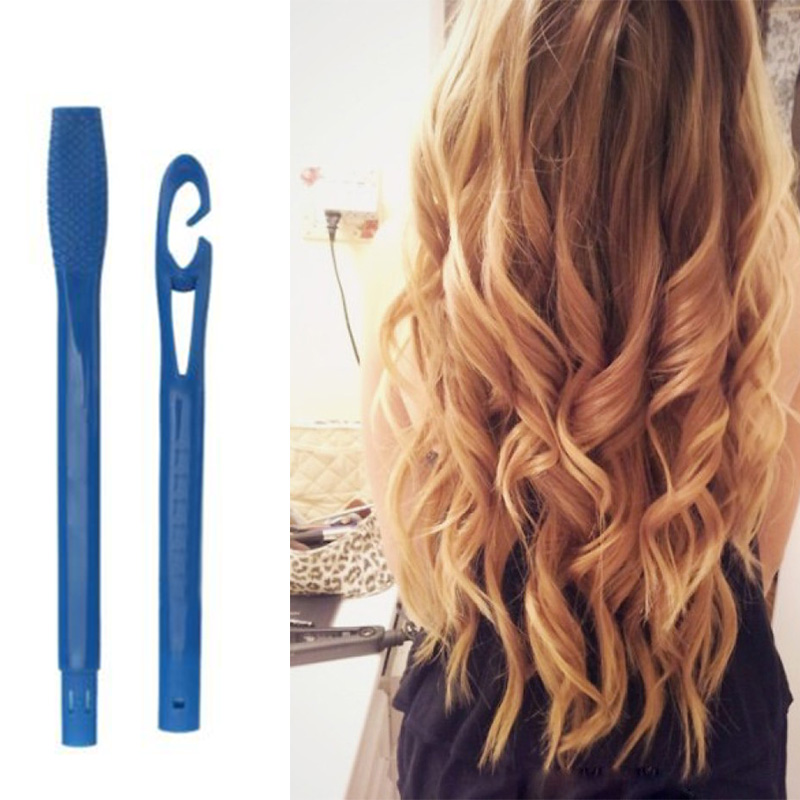 18PCS 15/25cm Plastic Long Diameter 2.5cm Magic Hair Curler Magic Hair Roller Spiral Curls Easy Usage