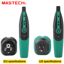 MASTECH MS5902 Circuit Breaker LED Tester Finder EU Plug Type Fuse Socket Tester Multimeter multimetro