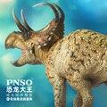 Pnso Machairoceratops диаблоцератопс Stegoceras Triceratops модель динозавра новые продукты в 2020 году