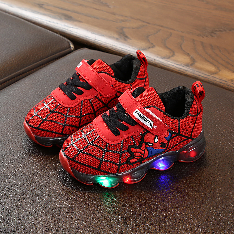 Baby Boys Kids Shoes LED Shoes with