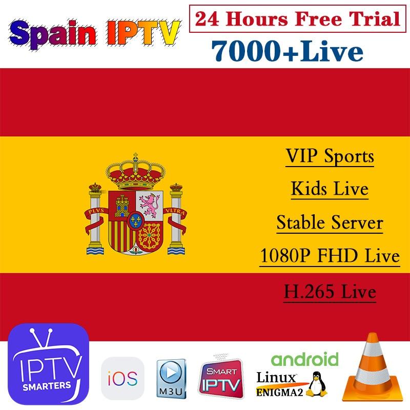 IPTV Spain 1 Year IPTV Subscription Spanish IPTV Arabic Belgium Dutch Portugal France Sweden Germany Italia Android M3u IP TV