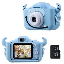 Children Camera Video-Game Gifts Kids 1080P for Battery-Toy Color-Screen Dual-Selfie