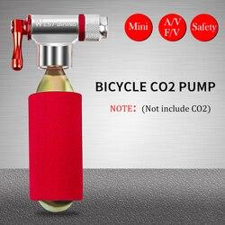 Велосипедный насос WEST BIKING, портативный мини-насос из алюминиевого сплава, для баскетбола, футбола, дорожного велосипеда, CO2, аксессуары