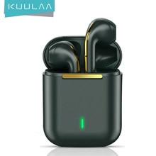 KUULAA TWS casque sans fil Bluetooth écouteur casque véritable sans fil écouteurs pour iPhone 12 11 Pro Max contrôle tactile écouteurs