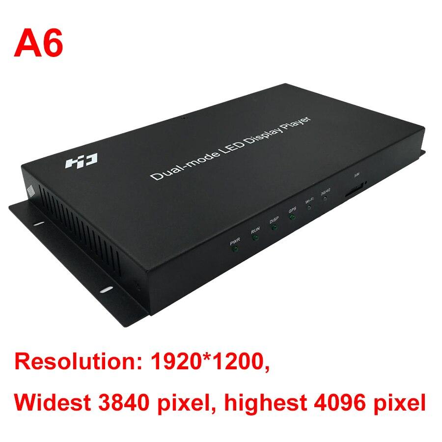 Image 4 - Huidu HD A4 A5 A6 WIFI フルカラー LED 表示モード同期と非同期制御システムLED ディスプレイ   -