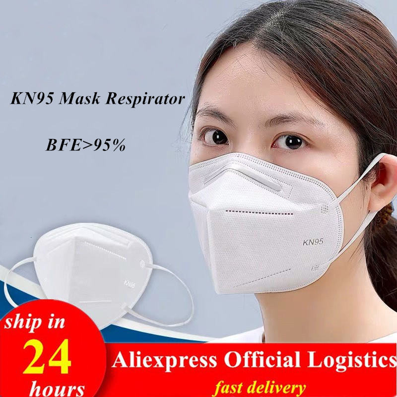 KN95mask Anti Dust Water KN95ffp2 Face Mouth Disposable Masks Filter Ffp2mask PM2.5 Safety Respirator Reusable Cotton Mascarilla