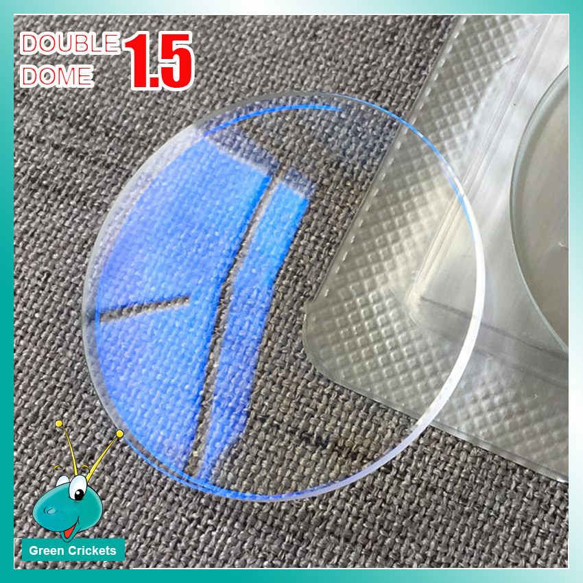 DD26325 Mineral Blue Light Watch Glass Parts 1.5mm Thick 26mm-32.5mm AR Coated Double Dome Curved Surface Watch Glass