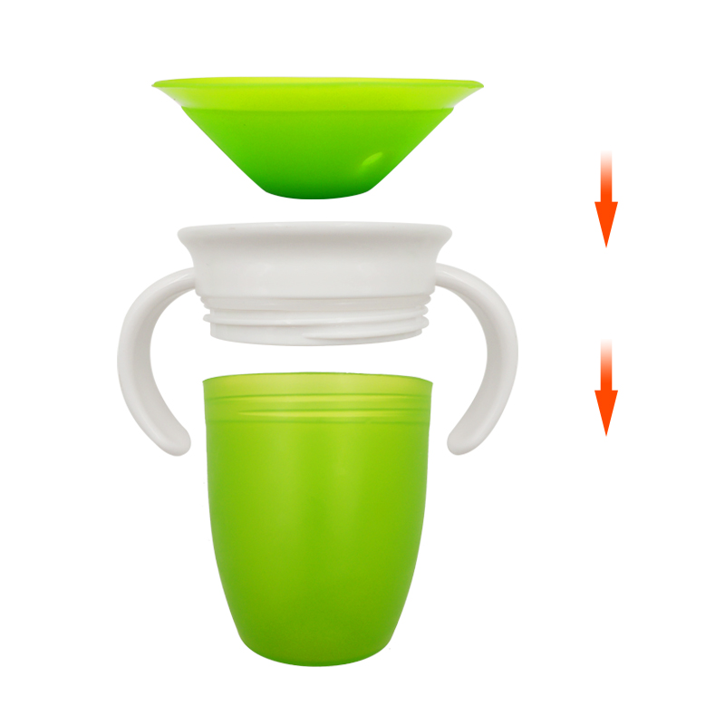 Degrees Can Be Rotated Baby Learning Drinking Cup 1