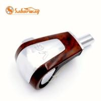 Saborway Cherry Wood & Chrome Automatic Gear Shift Knob Shifting Handball For Passat B5 V6 3BD713139 3BD 713 139|knob shift|automatic gear shift knob|gear shift knob -