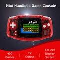 Retro Game Konsole Mini Handheld Spiel Player Eingebaute 400 klassische spiele unterstützung doppel spieler spiel