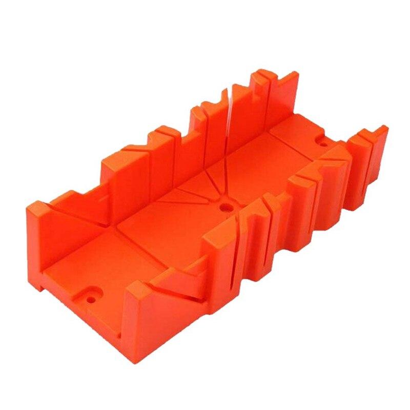 Gtbl multifuncional mitra viu caixa gabinete 0/22. 5/45/90 graus viu guia de madeira-laranja, 12 polegada