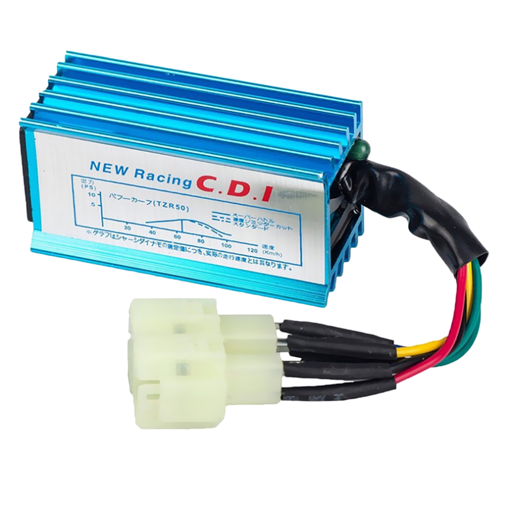 High Performance AC 6 Pins Racing CDI Unit For GY6 50cc 125cc Scooter ATV Replacement
