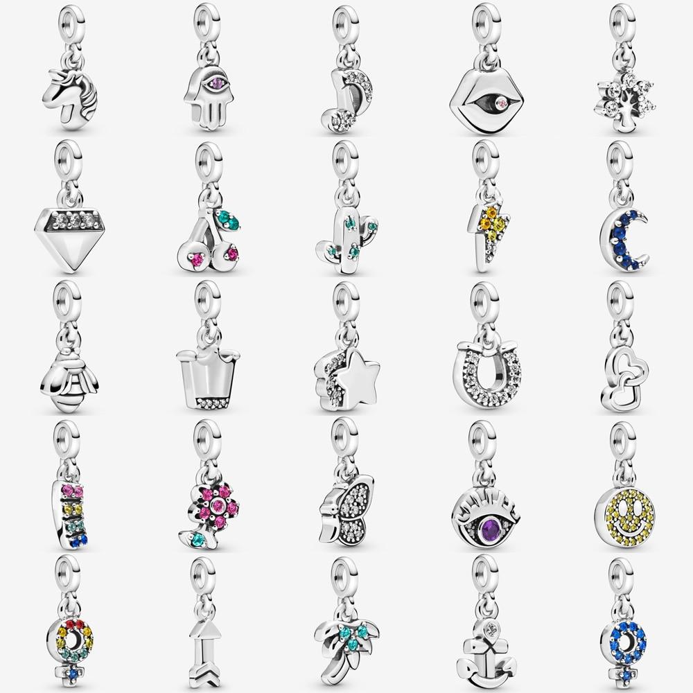 New Style Me Series 925 Sterling Silver My Blue Whale Dangle Charm Fit  pandora Me Bracelet Petite Pendant DIY Jewelry