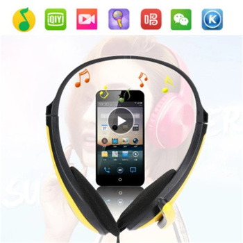 3.5mm Stereo Gaming Headset Over Ear Gamer Headphone With Mic Noise Cancel Kid PC Computer Phone Tablet Helmet For PS4 Laptop 1