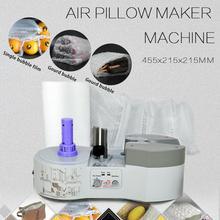 110V Air Pillow Cushion Bubble Packaging Wrap Maker Machine+ FREE Air Pillow