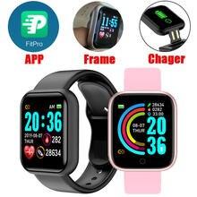 Смарт часы y68 с поддержкой android и ios для мужчин женщин