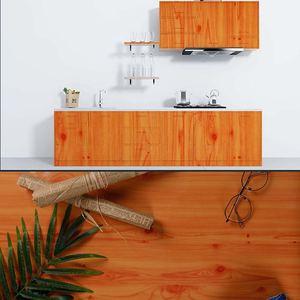 Водонепроницаемые самоклеящиеся обои, наклейки на двери, старая мебель, шкаф, подстол, ремонт, имитация дерева