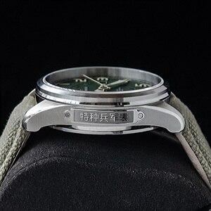 Image 4 - GB 1963 męski automatyczny zegarek mechaniczny NH35 Sport Super Luminous Special Forces wojskowy Pilot mężczyźni zegarki zegar z kalendarzem