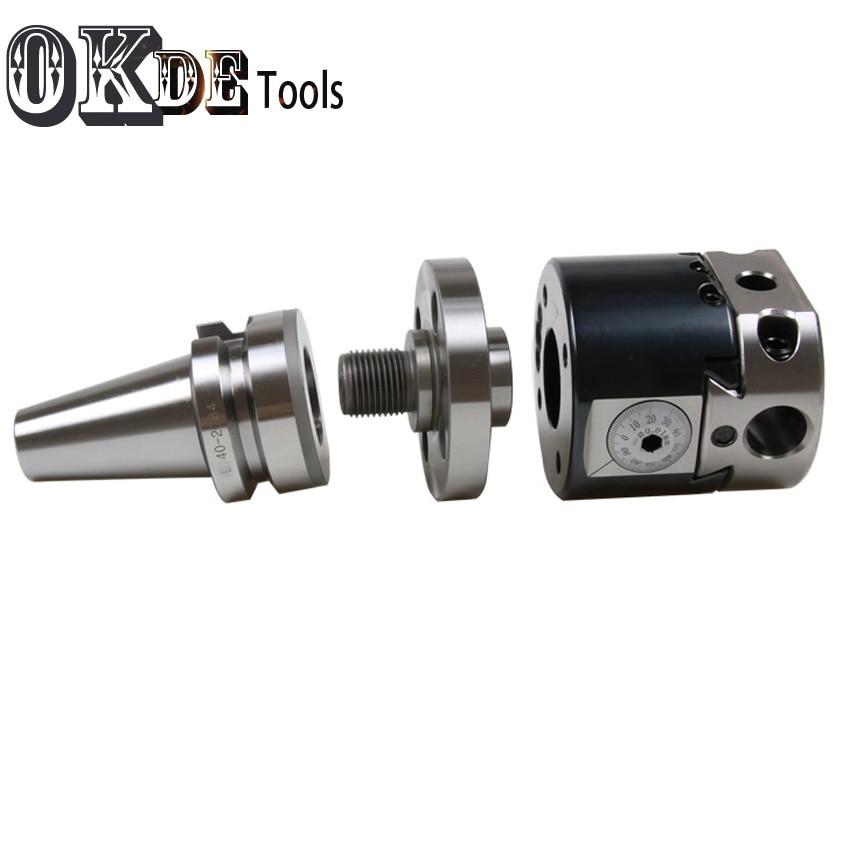Hoge precisie SK40 NBH2084 CNC 0.01 run nout M16 micro tool met BT schacht NBH2084 systeem saai heads met 8 stuks boring bar - 5