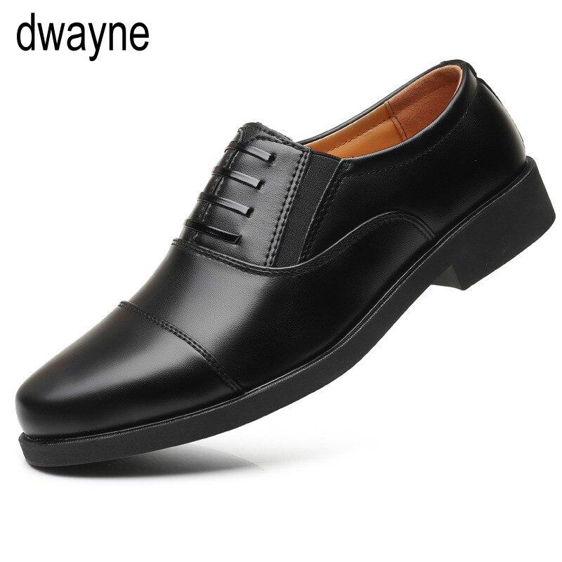 Zapatos de vestir para hombres de negocios clásicos zapatos de boda elegantes formales para Hombre Zapatos Oxford de oficina para hombre negro tyh6