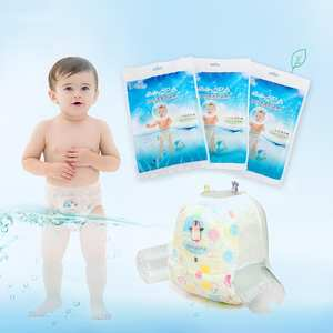 Nappy Diaper Care-Products Swimming-Pants Disposable Waterproof Baby Boy 1pc Girl