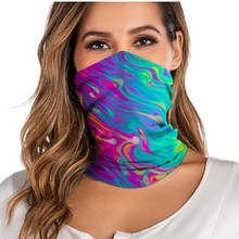 Headwear Scarf Gaiter-Tube Rave-Bandana Neck Motorcycle Women Windproof for Face Washable
