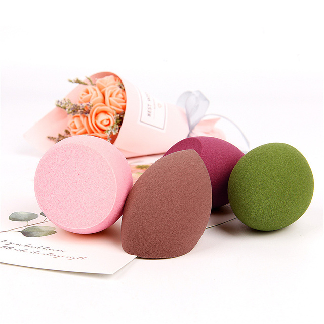 1pcs Water Drop Shape Cosmetic Puff Makeup Sponge Blending Face Liquid Foundation Cream Make Up Cosmetic Powder Puff 5