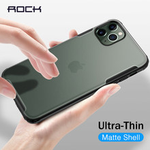 Rocha à prova de choque caso do telefone para o iphone 11 pro max caso na capa para o iphone xr xs x 7 8 mais caso transparente funda fosco coque(China)