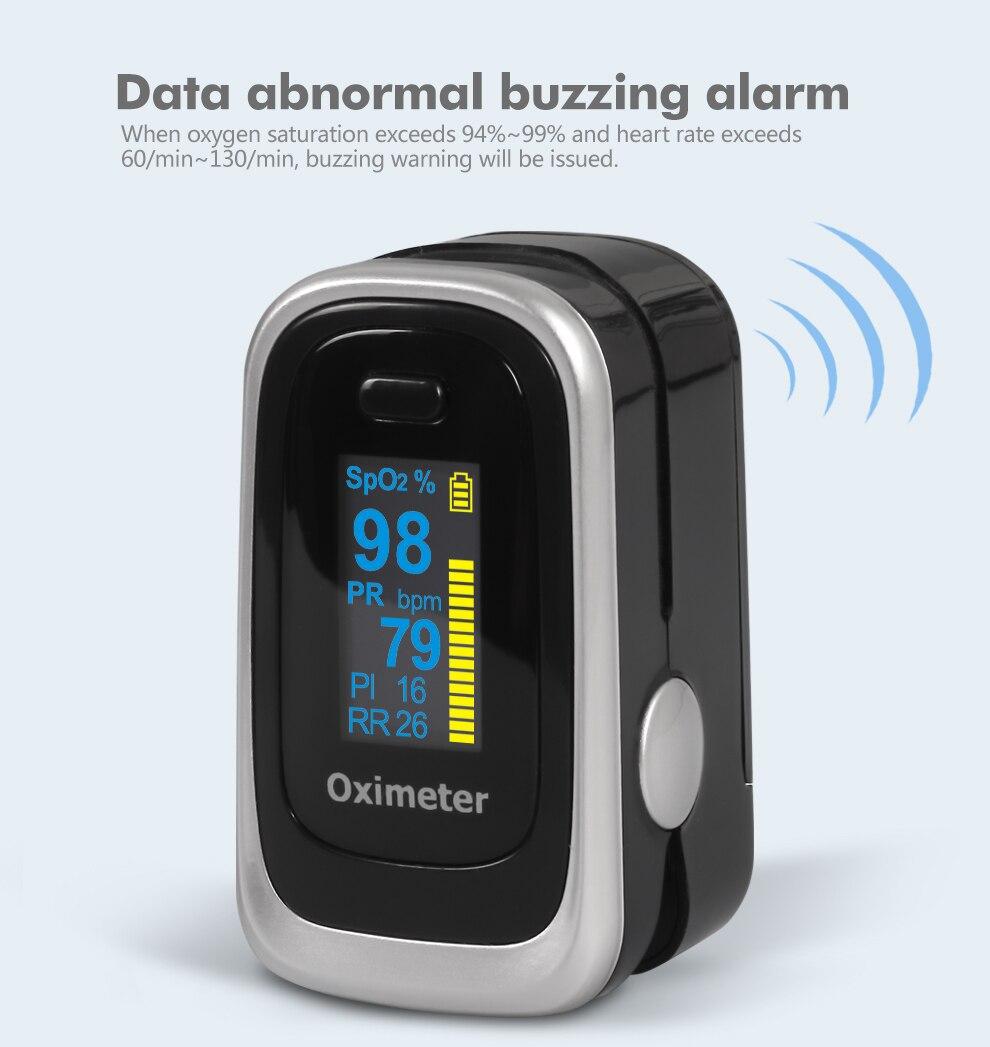 de oxigênio no sangue em casa oxímetro de pulso