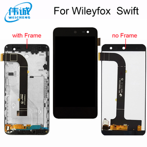 Weicheng wileyfox swift montagem da tela de toque + tela lcd para wileyfox swift lcd com moldura substituição smartphone ferramentas|5 screen|5 inch touch screen|screen touch -
