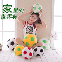 New Style Model Plush Football Basketball Children Indoor Parent And Child Interactive Toy Team Image Gift