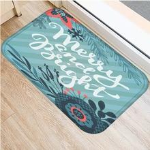 1 40*60 センチメートル非スリップ文字パターンスエードカーペットドアマット台所の床リビングルームのフロアマットカーペット世帯の寝室の床マット