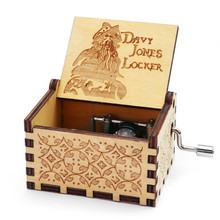Creative Retro Carved Wooden Hand Music Box Wooden Music Box Wooden Music Box Home Decoration Accessories for Festival Gifts